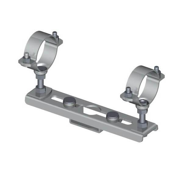 Sliding pipe clamp Type 118 B/118 BA